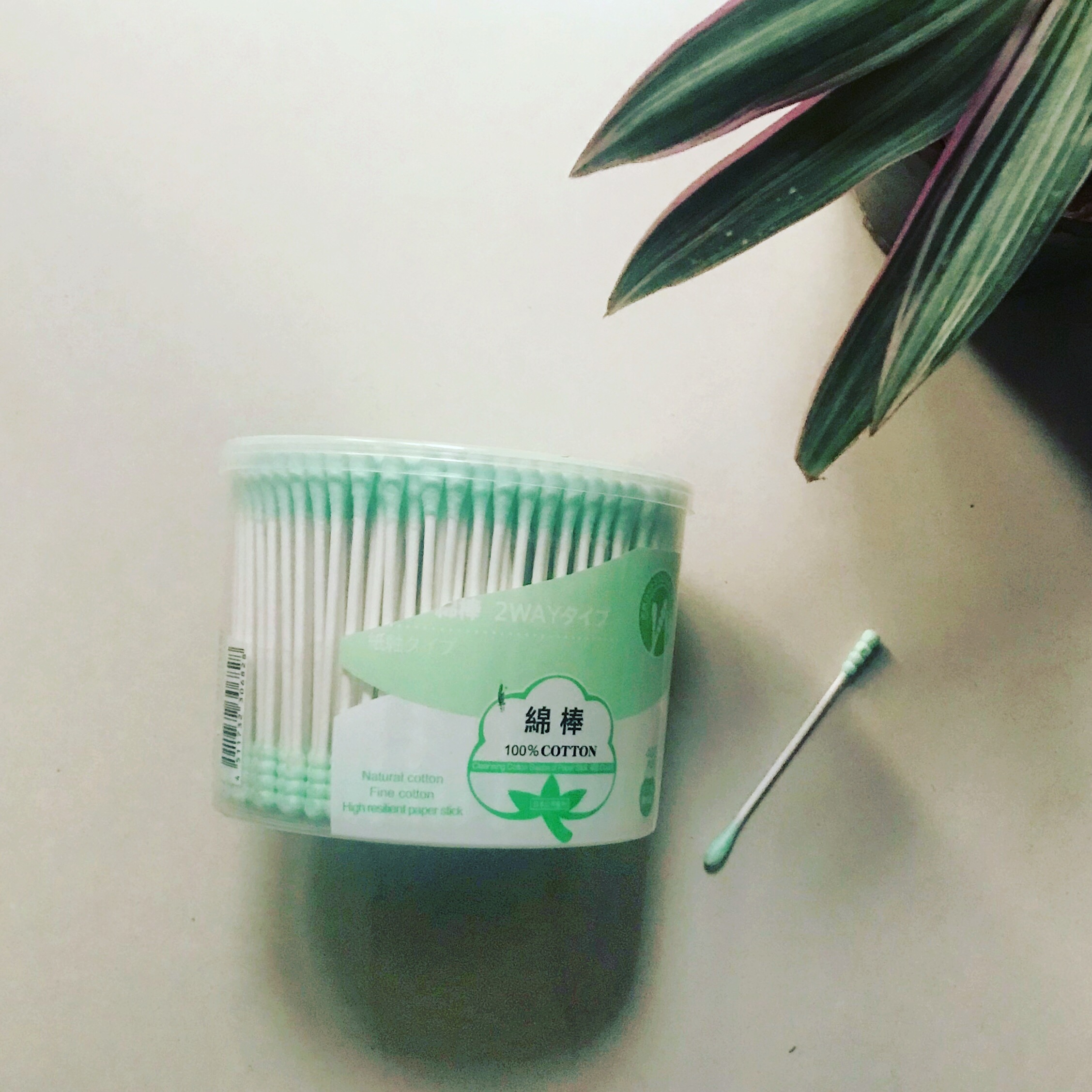 COTTON BUDS WItH PAPER STICKS